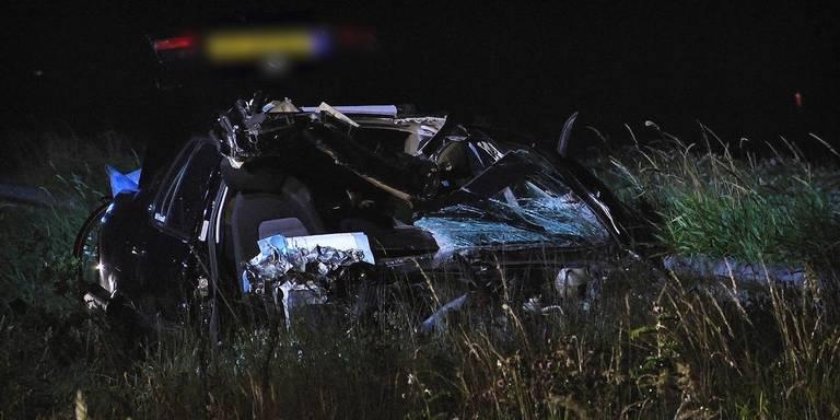 Automobilist gewond bij botsing met vrachtwagen op A32 bij Havelte.