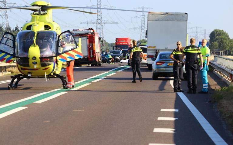 Dodelijk ongeluk op N34 bij Emmen.