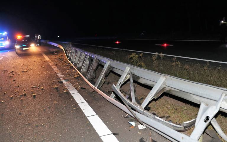 Automobilist gewond bij ongeluk op N33.