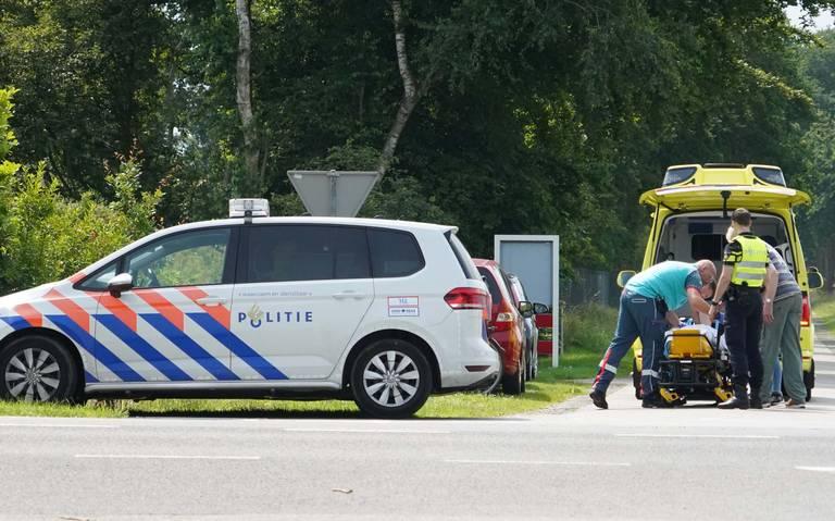 Fietser gewond na aanrijding in Assen.