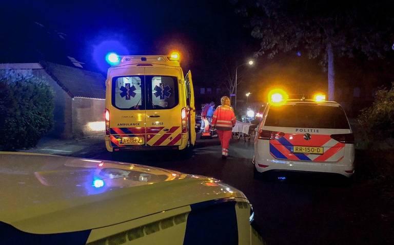 Scooterbestuurder gewond bij botsing tegen auto in Assen.