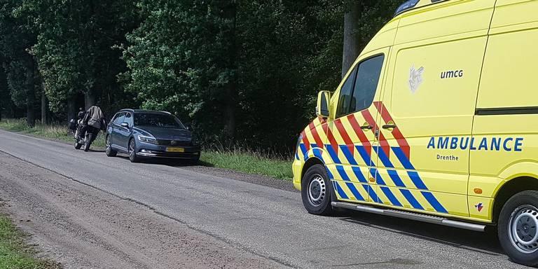 Motorrijder gewond bij botsing met auto in Zeijerveen.