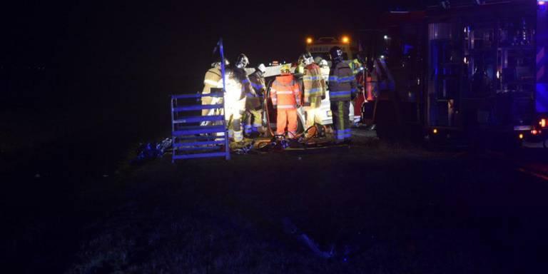 Man uit Coevorden zwaargewond bij ongeluk op N36 bij Stegeren.