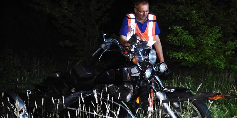 Motorrijder gewond door aanrijding met ree bij Witteveen.