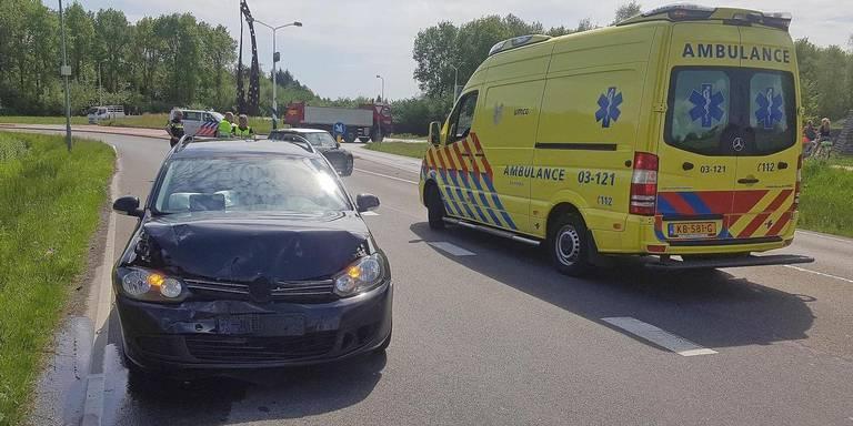 Twee gewonden bij ongeluk in Assen.
