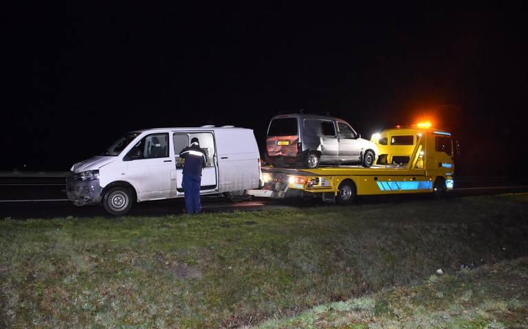 Gewonde bij ongeval op A28 bij Rogat.