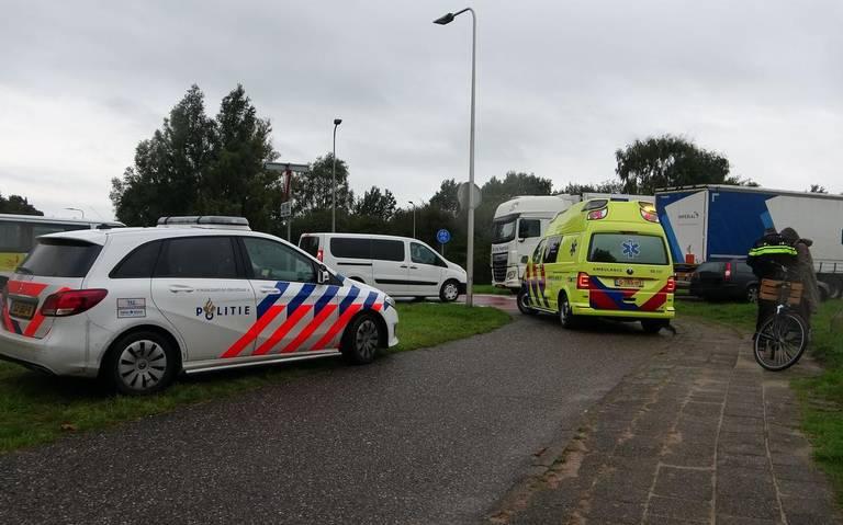 Fietsster aangereden op Eekhorstweg.