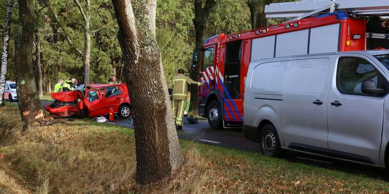 Vrouw uit Groningen komt om bij auto-ongeluk in Anloo.