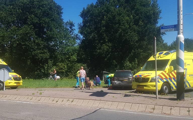 Vrouw gewond bij aanrijding in Bovensmilde.