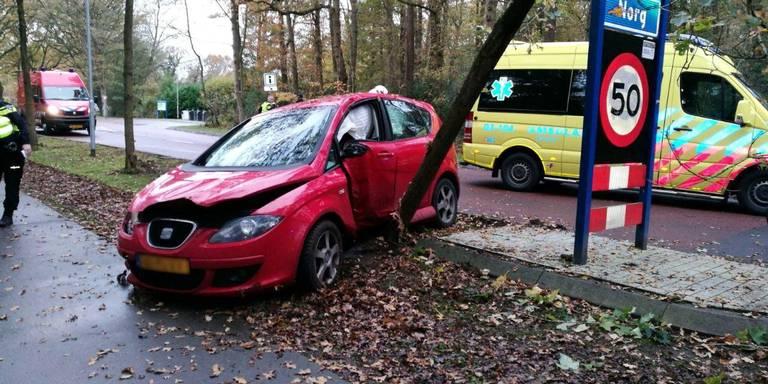 Vrouw gewond bij ongeluk Norg.