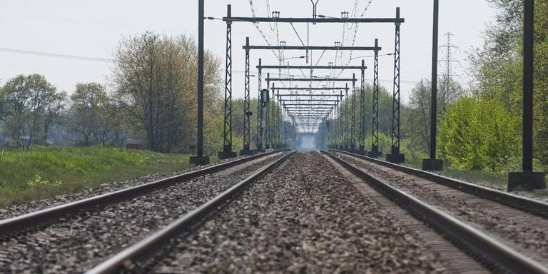 Geen trein verkeer naar het noorden ivm treinongeval Zwolle.