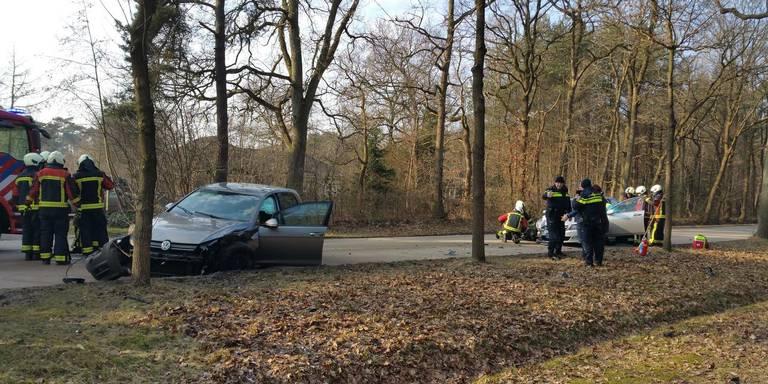 Drie gewonden bij ongeluk Norg.