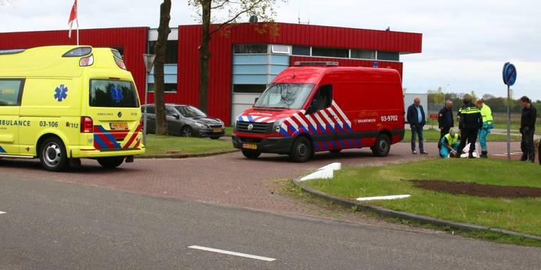 Wielrenster gewond bij aanrijding in Gieten.