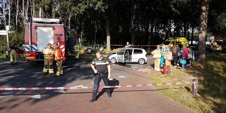 Gewonde bij ongeluk in Frederiksoord.