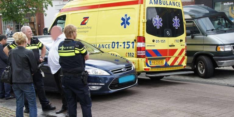Kind gewond door aanrijding met taxi in Nieuw-Weerdinge.