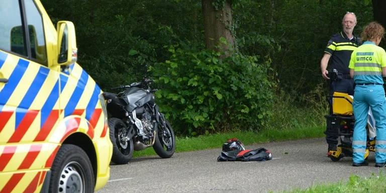 Twee gewonden bij motorongeluk in Annen.