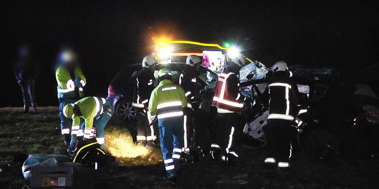 Vier gewonden bij aanrijding A28.