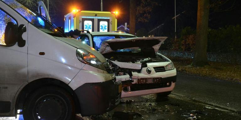 Twee gewonden bij botsing in Stadskanaal.