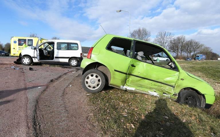 Twee kinderen gewond bij aanrijding in Tolbert.