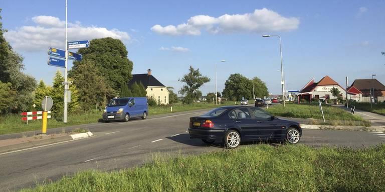 Friesestraatweg steeds drukker: vorig jaar zeventig ongelukken.