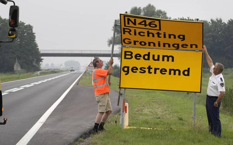 'Ontlast dorpen langs Eemshavenweg met uitwijkroutes bij ongelukken'.