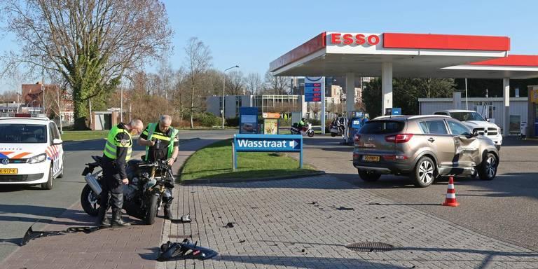 Motorrijder gewond bij ongeluk Hoogezand.