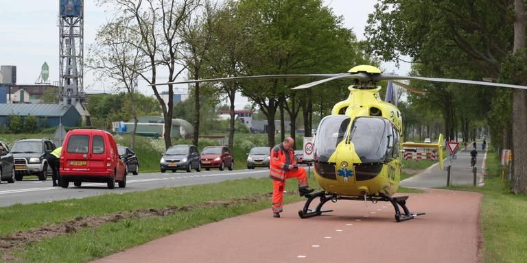 Motorrijder overleden na botsing met bestelbusje in Kolham.