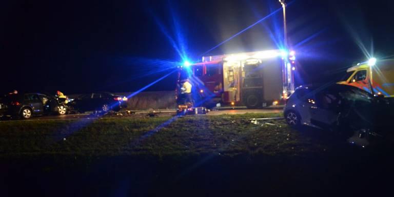 Ongeluk op N366 bij Mussel, mogelijk zwaargewond slachtoffer.