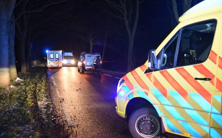 Voetganger geschept bij ernstig ongeval Westerlee.