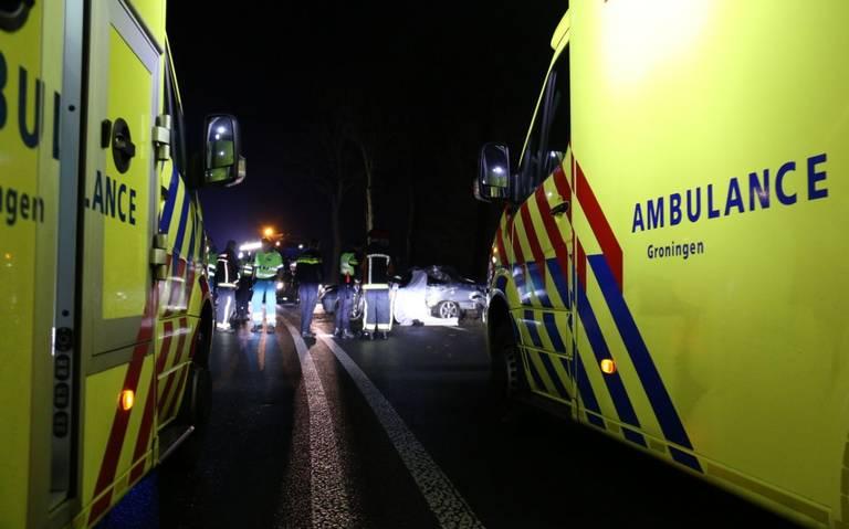 Bestuurder komt om bij auto-ongeluk in Winschoten.