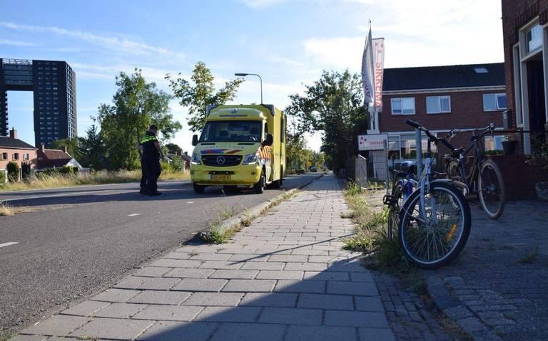 Ongeval met twee gewonden op de Rijksweg.
