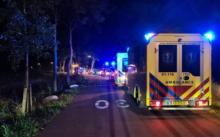 Meerdere gewonden bij ernstig ongeluk in Finsterwolde.