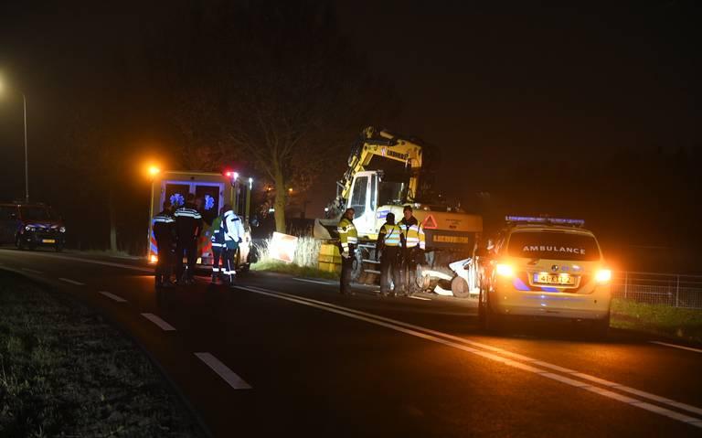 Vrouw uit Veendam overlijdt bij ongeluk bij Kropswolde.