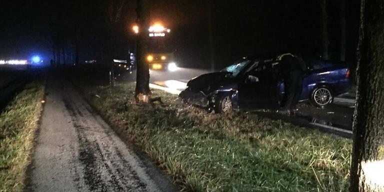 Dodelijk ongeval N361 Sauwerd.