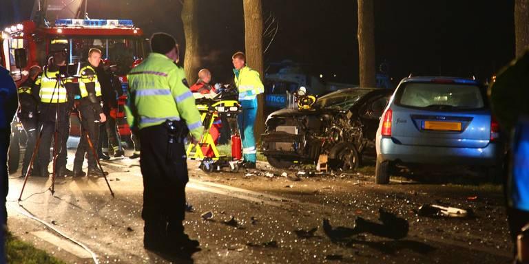 Ongeval met drie autos tussen Blijham en Oude Pekela.
