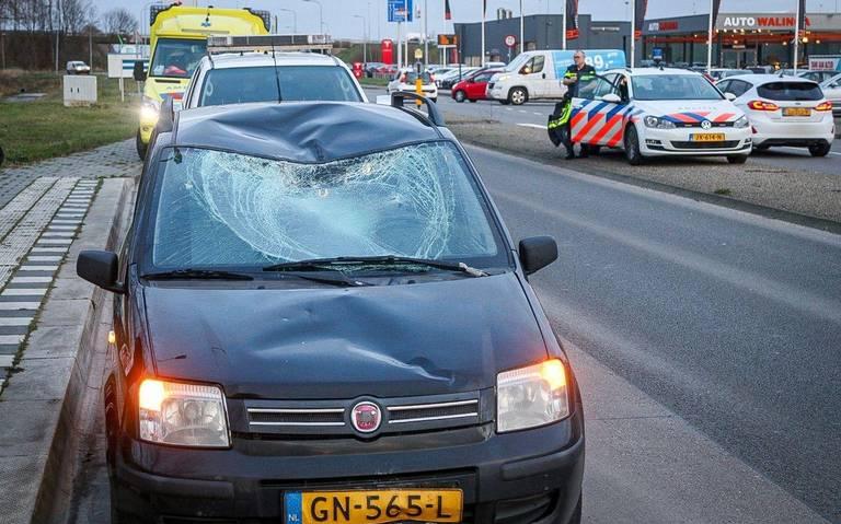 Aanrijding Odenseweg: fietser gewond.