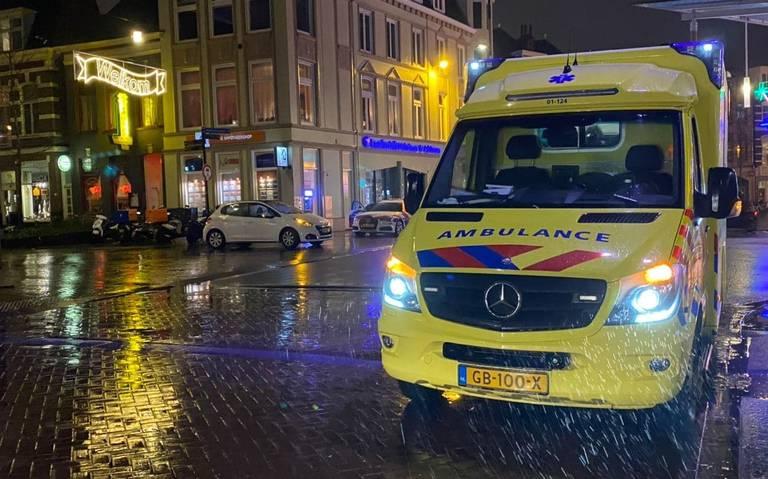 Fietser gewond na aanrijding op Westerhaven Groningen.