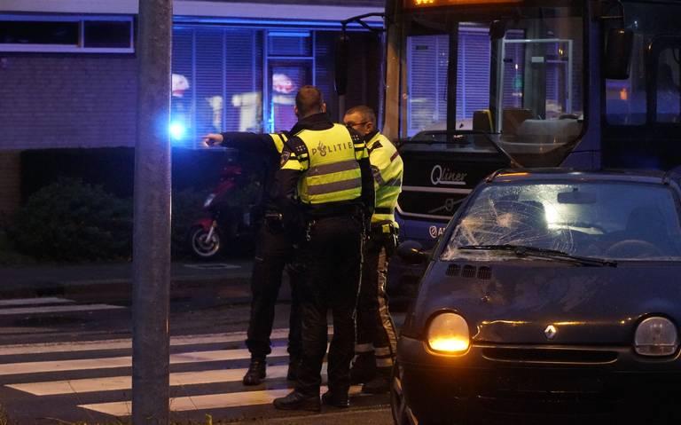 Voetganger aangereden op Zonnelaan Groningen.