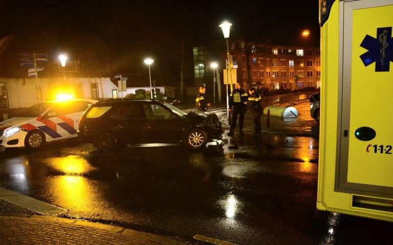 Opnieuw ongeluk op de kruising Nijverheidsstraat met de C.W. Lubbersstraat in Wildervank.