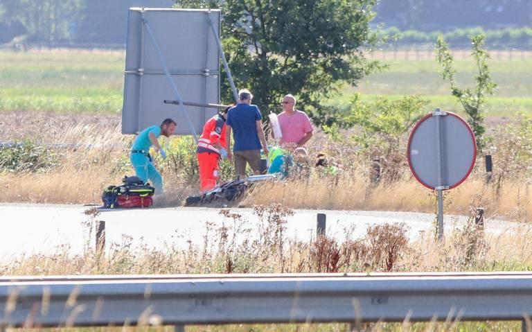 Motorrijder overleden na ongeval bij knooppunt Driebond.