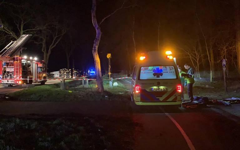 Twee doden bij ongeluk in Hooghalen.