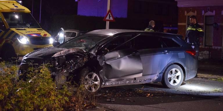 Drie gewonden bij auto-ongeluk in Glimmen.