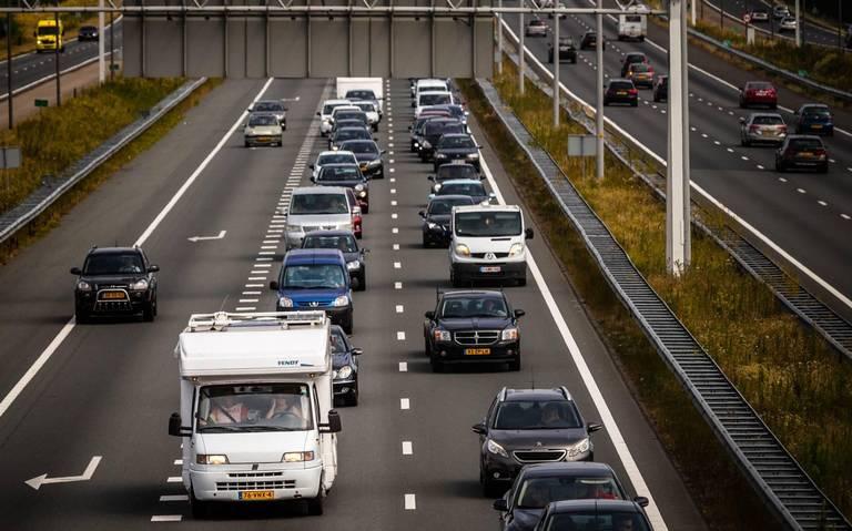 Ongeluk veroorzaakt file op A28 richting Assen.