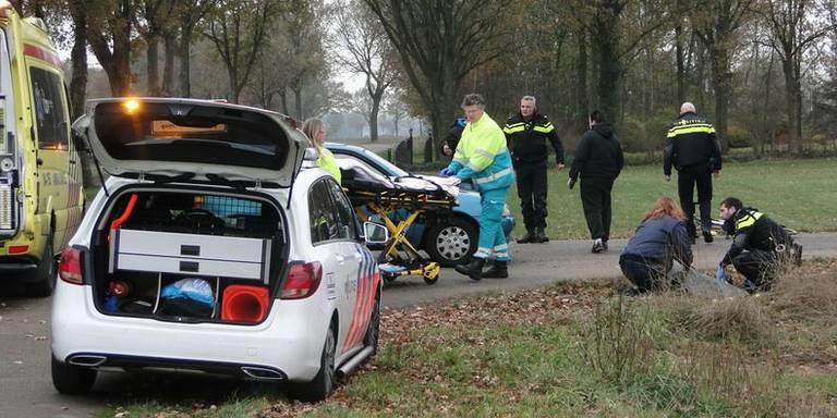 Fietser gewond bij aanrijding in Hollandscheveld.
