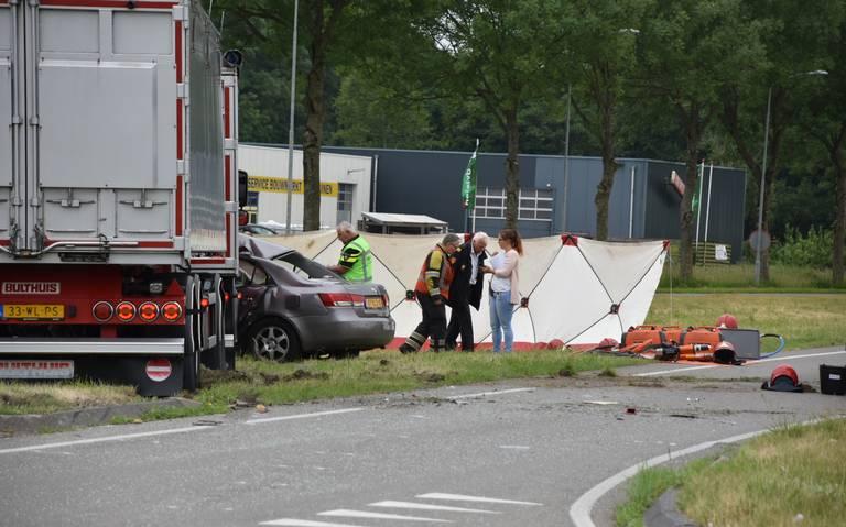 Echtpaar komt om het leven bij ongeval N361.