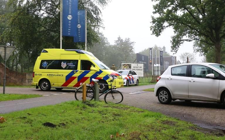 Fietser raakt gewond bij aanrijding in Exloo.
