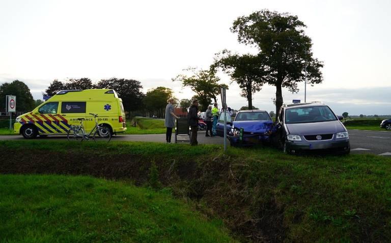 Automobilist gewond bij ongeluk in Schoonebeek.