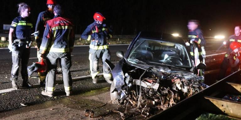 Gewonde door ernstig ongeluk op A7.