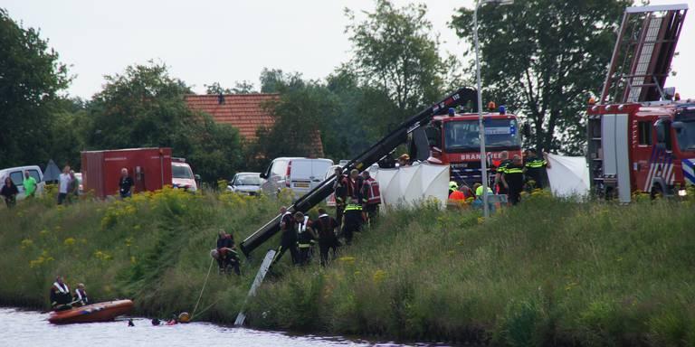 Dodelijk ongeval eist vier levens bij Stieltjeskanaal.