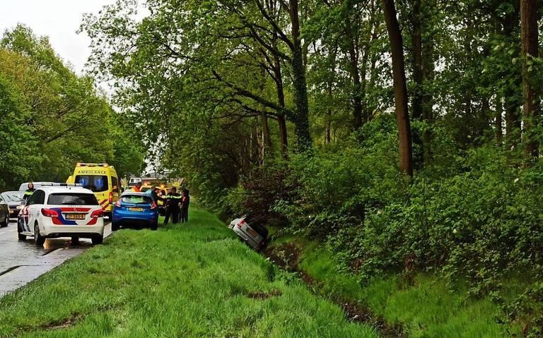 Ongeluk op Antares in Klazienaveen.